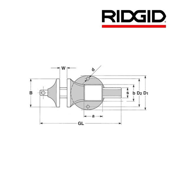 Imadło stołowe Matador / Peddingaus 120 RIDGID