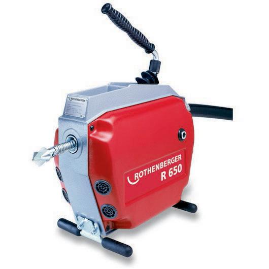 Maszyna do czyszczenia rur i kanałów R 650 Rothenberger