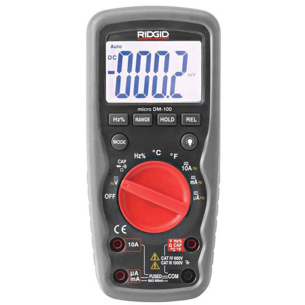 Miernik uniwersalny cyfrowy RIDGID micro DM-100