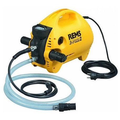Promocja !!! REMS E-Push 2 Elektryczna pompa kontrolna z manometrem