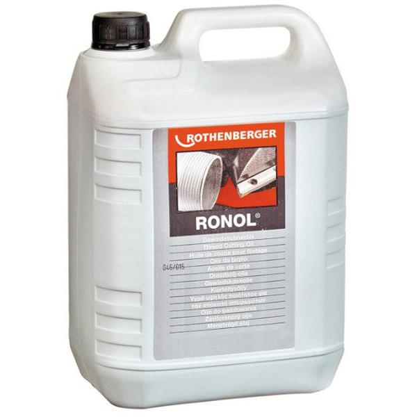 RONOL mineralny olej do gwintowania 5 L 65010 ROTHENBERGER