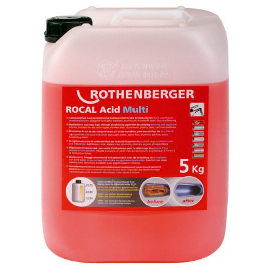 Środek do odkamieniania ROCAL Acid Multi 30kg 1500000117 ROTHENBERGER