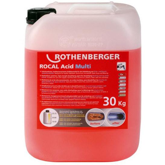 Środek do odkamieniania ROCAL Acid Multi 5kg 1500000115 ROTHENBERGER