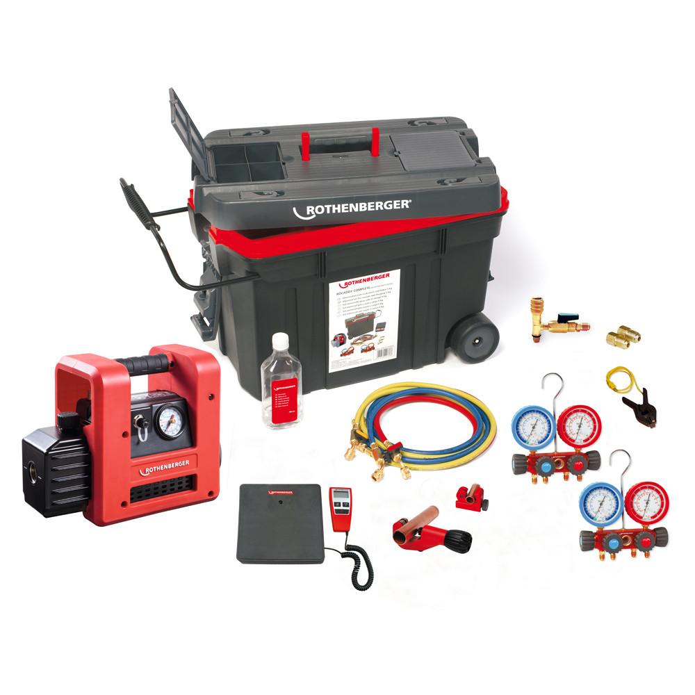 Zestaw narzędzi ROCADDY 120 ANALOG R32 1000002560 ROTHENBERGER