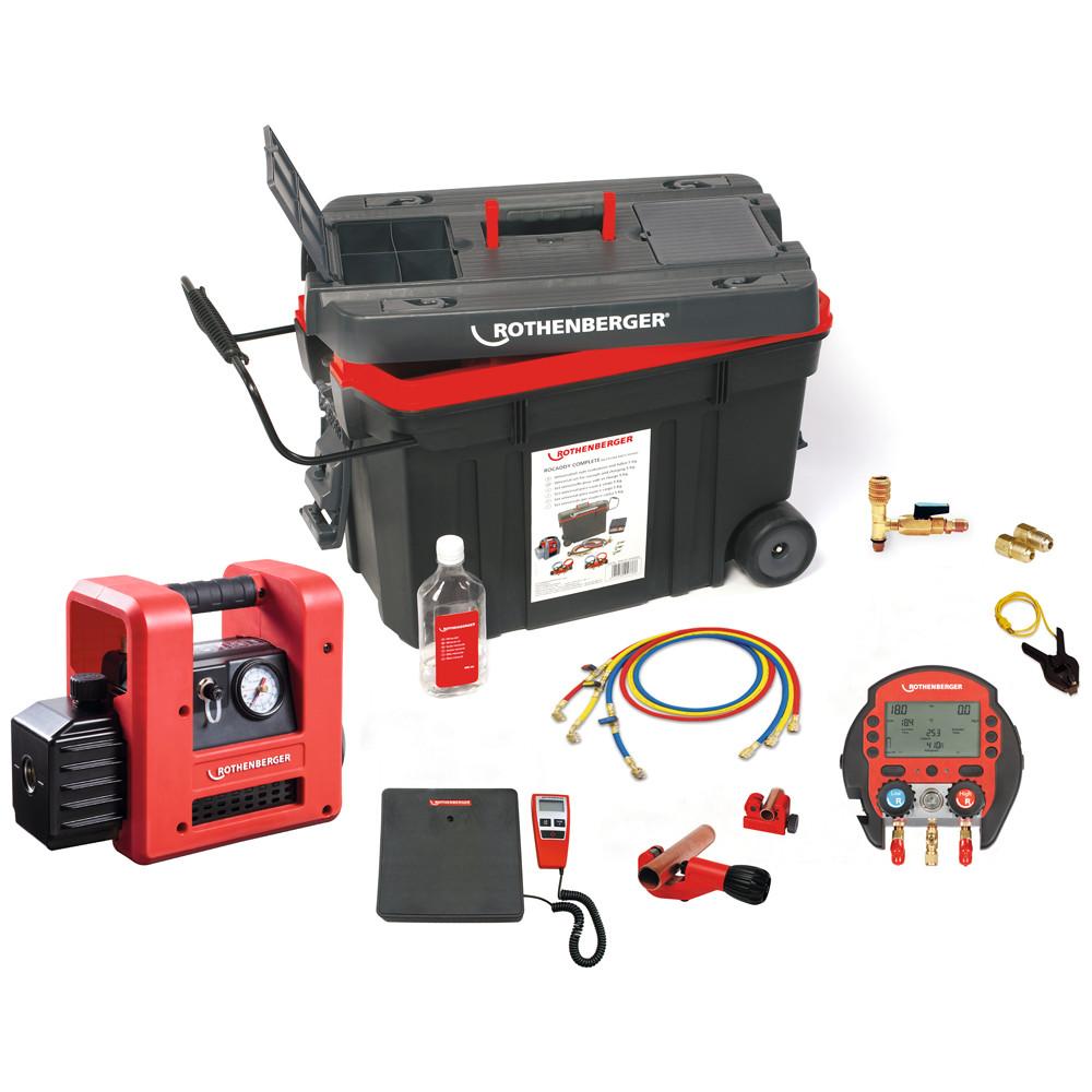 Zestaw narzędzi ROCADDY 120 DIGITAL R32 1000002561 ROTHENBERGER