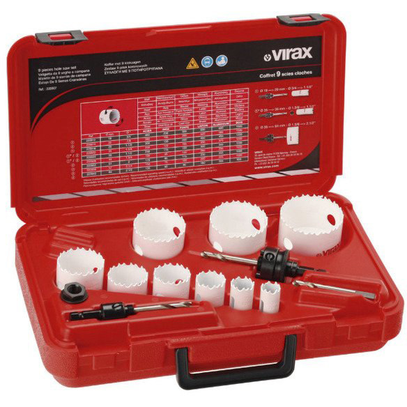 Zestaw piłek koronowych VIRAX 220907